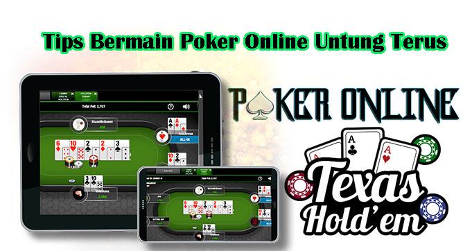 Tips Bermain Poker Online Untung Terus